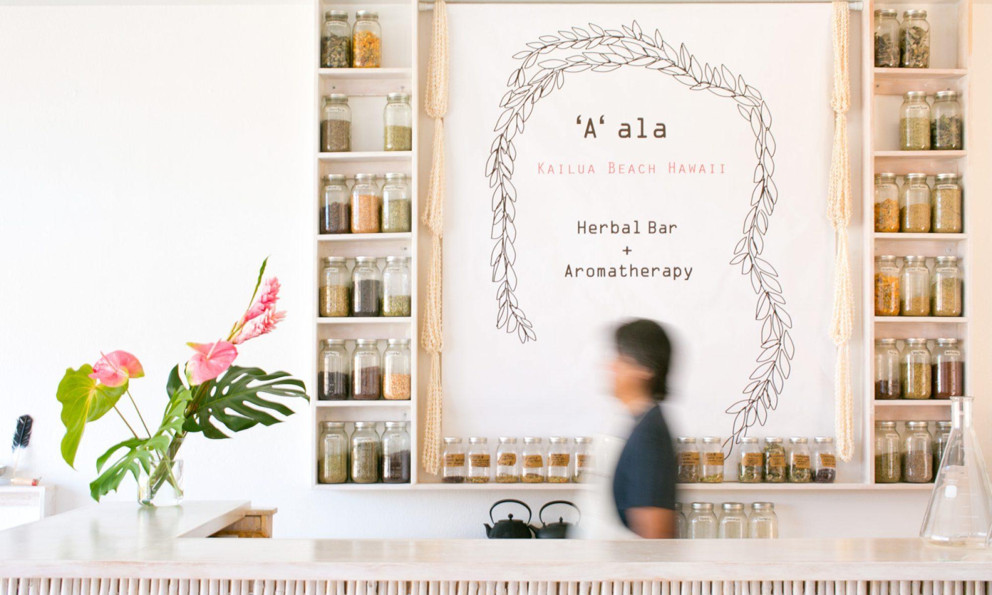 'A' ala Herbal Bar + Aromatherapy